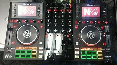 Numark NVII Serato DJ Controller with Intelligent Color Dual Display