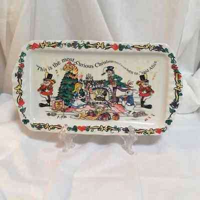 CARDEW ALICE in WONDERLAND CHRISTMAS PARTY COOKIE TRAY