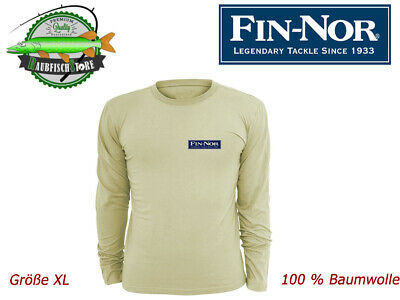 Long Sleeve Shirt - Fin Nor - Gr. XL - 100 % Baumwolle - Langarm Untershirt  Neu