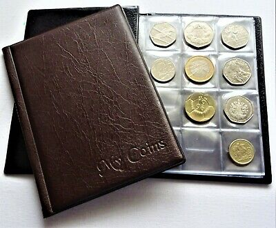 Coin Collectors Album 96 Coins Perfect for 50p Olimpic, Beatrix, BoB, old 50p
