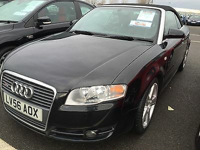 56 Audi A4 S Line Fsi Auto S-Line Cabriolet,leather, Climate,pdc **roof Reqs Att