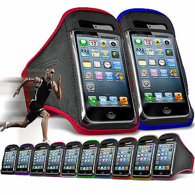 Quality Gym Running Sports Workout Armband Phone Case Cover for Apple
