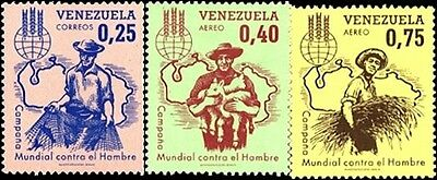 Freedom From Hunger - Stamps From Venezuela