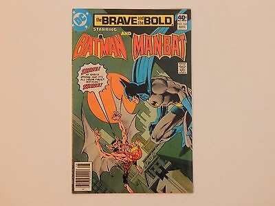 The Brave And The Bold #165 DC 1980 Batman Manbat Comic Book FN