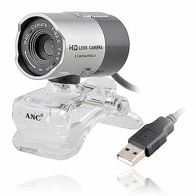 Web Cam Webcam Camera With MIC USB 2.0 Night Vision For Computer Laptop Skype