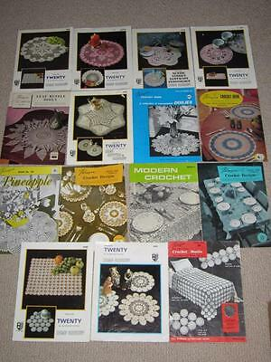 15 BOOKS  -  Crochet EDGES  MOTIFS, EDGES DESIGNS DOYLEY'S  PARAGON PATTERNS