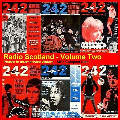 Pirate Radio Radio Scotland MP3's VOLUME 2 (Car player friendly MP3 disc) 14hrs