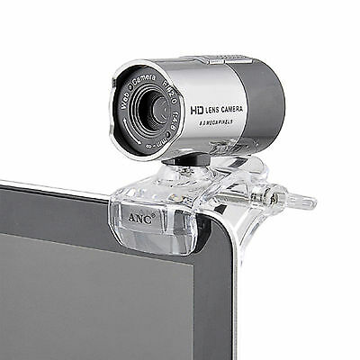 USB 2.0 Webcam Camera Web Cam with Mic Night Vision for Desktop PC Laptop NEW