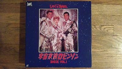 Lost in Space Laser Disc Box Set Vol. 1 Japanese 1960's Television Episodes