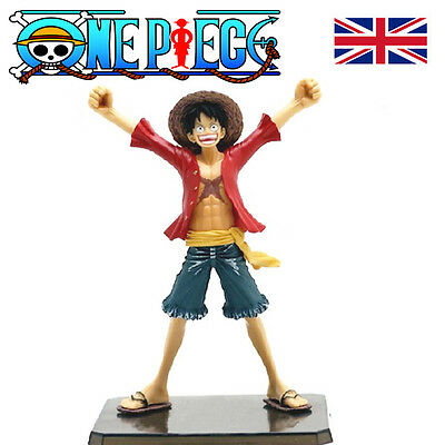 One Piece Heroes Monkey D Luffy The New World PVC Action Figure Kids Toy Gifts