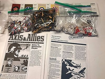 axis and allies 1987 Parts, Replacement Pieces, Figures
