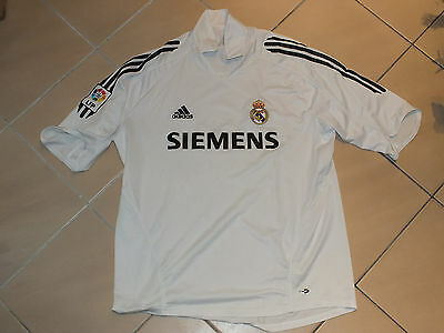 !! Maillot foot camiseta shirt jersey REAL MADRID RMFC Taille XL !!