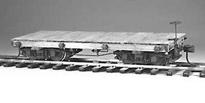 4003 20' Shop Built Flat Car Kit On30 (DISCONTINUED) by EHD - LAST CALL LAST ONE