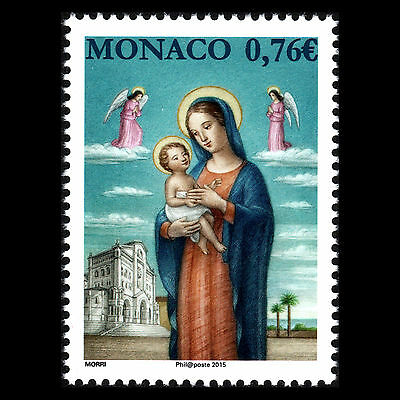 Monaco 2015 - Christmas Art - MNH
