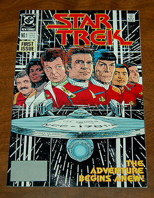 Star Trek #1 (Oct 1989, DC) ~ VF/NM 9.0 DC Comics First Issue