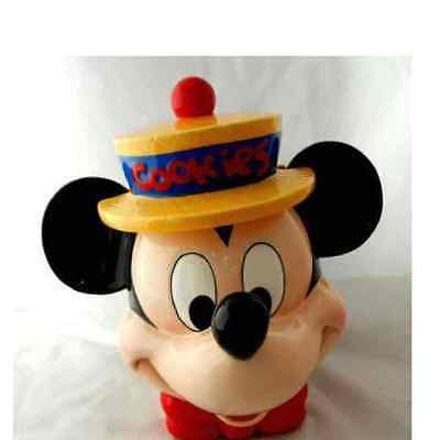 MICKEY MOUSE COOKIE JAR retired