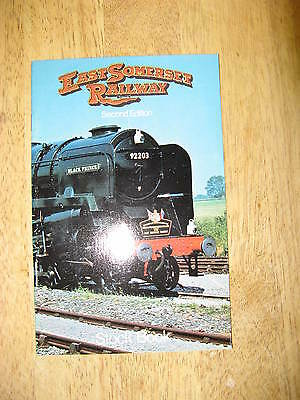East Somerset Railway, Stock Book