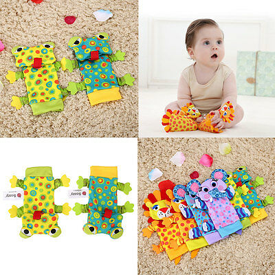 Kids Babies Unisex Cotton Animal Printed Breath Free Absorbent Pair Casual