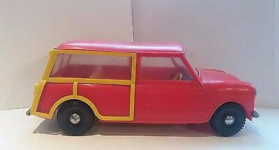 VINTAGE Tudor Rose Mini Traveller plastic toy, Made in England-EXTREMELY RARE