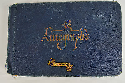 Autograph Book. From 1950's. 24 Autographs. Mostly Unknown