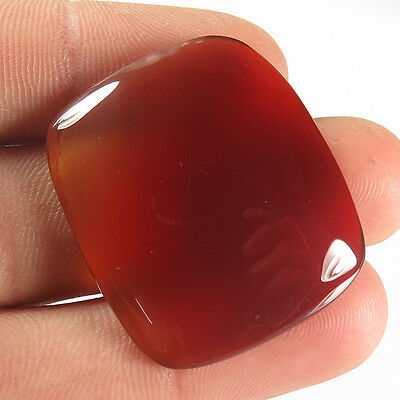 Glorious Natural CARNELIAN 32x27 mm Cushion Cabochon Gemstone 42.50 Cts Supplier