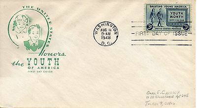 US FDC #963 Youth, House Of Farnam (3865)