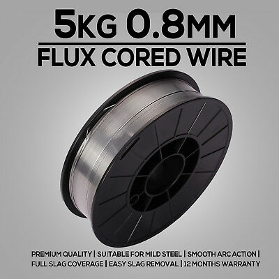 5kg 0.8mm Gasless Mig Welding Wire E71T-GS Flux Cored Welder Wire Mild Steel
