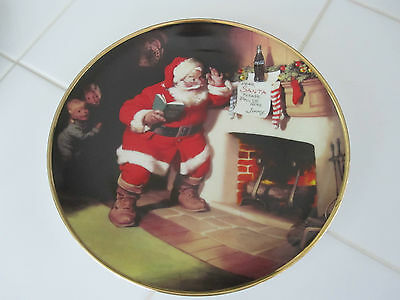 """1993 Franklin Mint Coca Cola """"The Pause That Refreshes"""" Limited Edition Plate"""