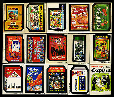 1973-74 Fleer Crazy Magazine~Topps Wacky Packages Series 4 5 6 7 13~27 Different