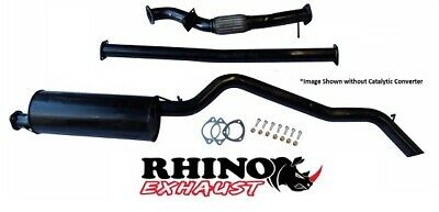 """Ford Ranger Px & Pxii 3.2L 2011- On Turbo Back 3"""" Inch Exhaust  With Cat -Rhino"""