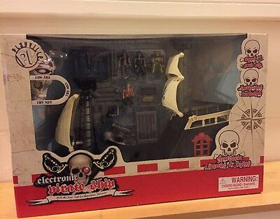New Playville Electronic Lights and Sounds Pirate Ship