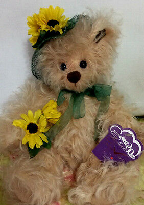 Sunflower Sally Bear by Annette Funicello