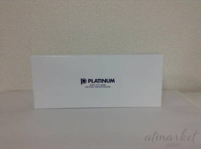 PLATINUM Fountain Pen #3776 CENTURY RHODIUM PNB-15000CR #7 Black Diamond UEF.
