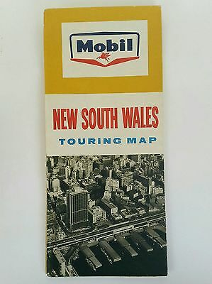 Vintage - Road Map - Mobil - New South Wales - Mobil Oil/petrol
