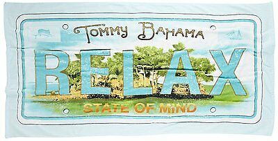 """Tommy Bahama Relax Cotton Beach Towel 35"""" x 66"""""""