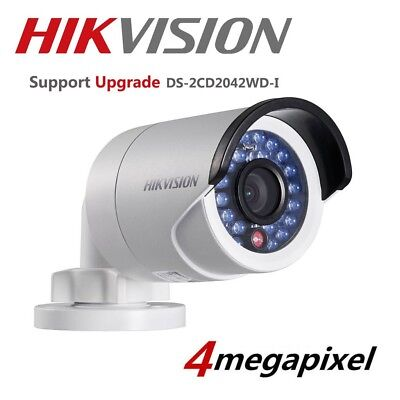 Original HIKVISION DS-2CD2042WD-I 4MP PoE HD 4mm WDR Outdoor Network IP Camera