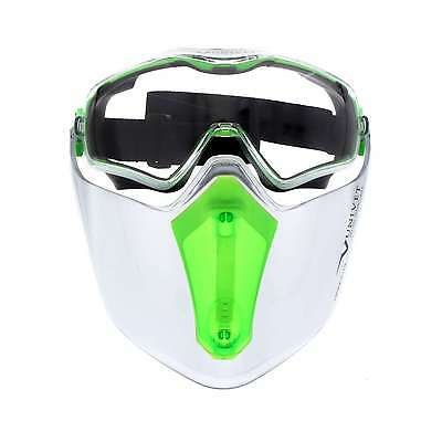 Safety Goggle And Visor Combo Wide Peripheral Vision And Face Coverage