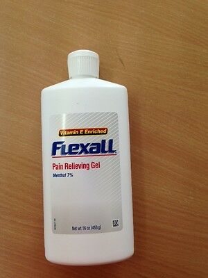 FLEXALL pain relieving gel 453g@ $40 EACH -new packaging exp 8/2019