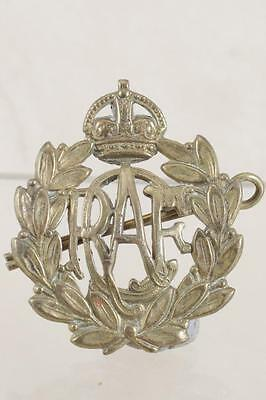 Gb Wwii: Royal Air Force Cap Badge - Fine Ref: V 8323F
