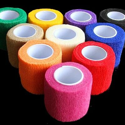 5M*5cm Sports Elastic Kinesiology Tape Roll Physio Muscle Strain Injury Support