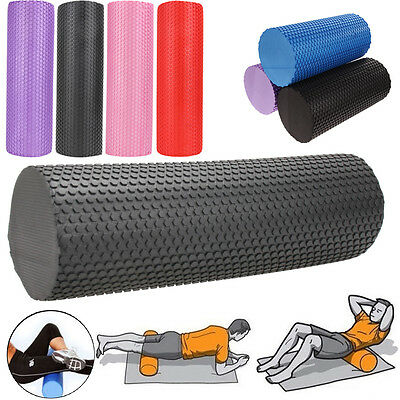 31/45cm Gym Fitness Floating Point EVA Yoga Foam Roller Physio Trigger Massage