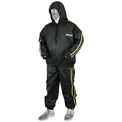 MRX Sauna Sweat Track Suit Weight loss Slimming Fitness Boxing Gym Heavy Duty BG