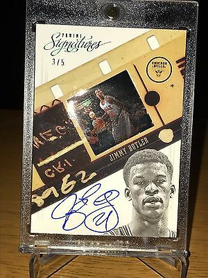 2012-13 Panini Signatures RC-Rookie Film auto JIMMY BUTLER Green numbered 3/5