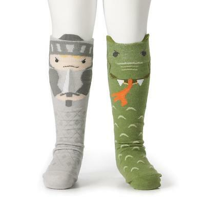 Demdaco Kids Knight & Dragon Knee Socks Collection holiday fun cute gifts