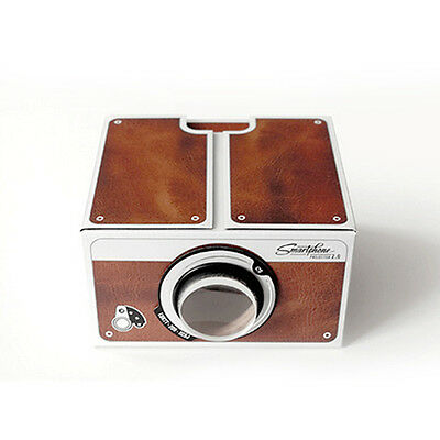 DIY Smart Phone Projector 2.0 Cinema In A Box Pre-assembled for iPhone /Android