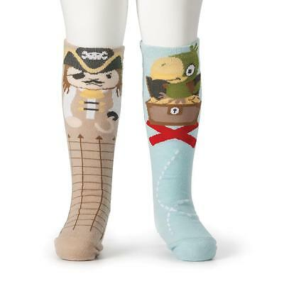 Demdaco Kids Boys Pirate & Parrot Knee Socks Collection holiday fun cute gifts