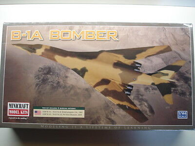 Minicraft 1:144 Scale USAF B-1A Bomber Model Kit - New # 14595 - Shrinkwrapped