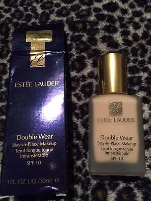 Estee Lauder Double Wear Foundation/Makeup 1N1 Ivory Nude 30ml.