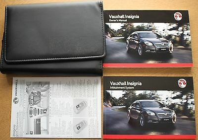 Vauxhall Insignia Handbook Owners Manual Pack 2008 - 2013 Pack 10555