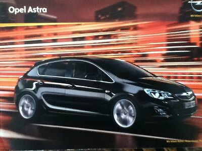 OPEL ASTRA Brochure 2010 FRANCE Edition FRENCH